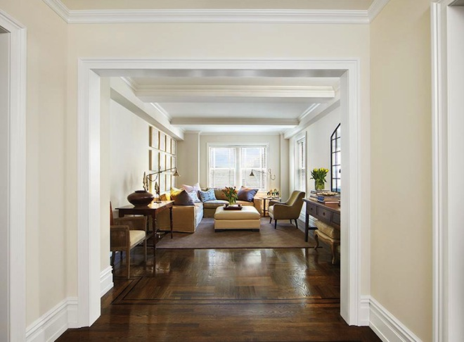 165 West 91st Street living room