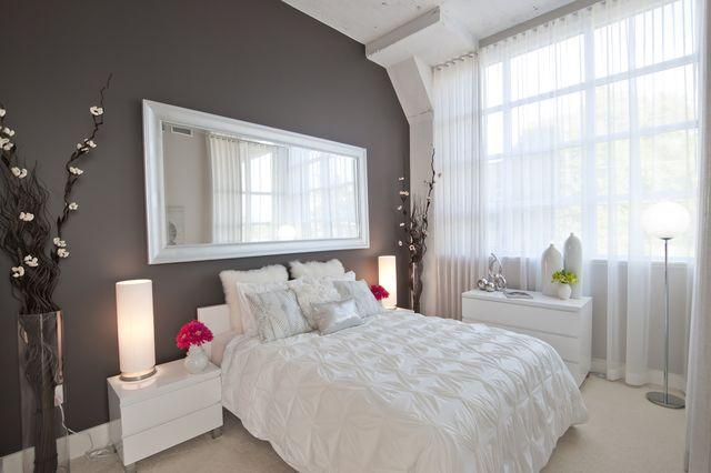 model-bedroom arrow lofts