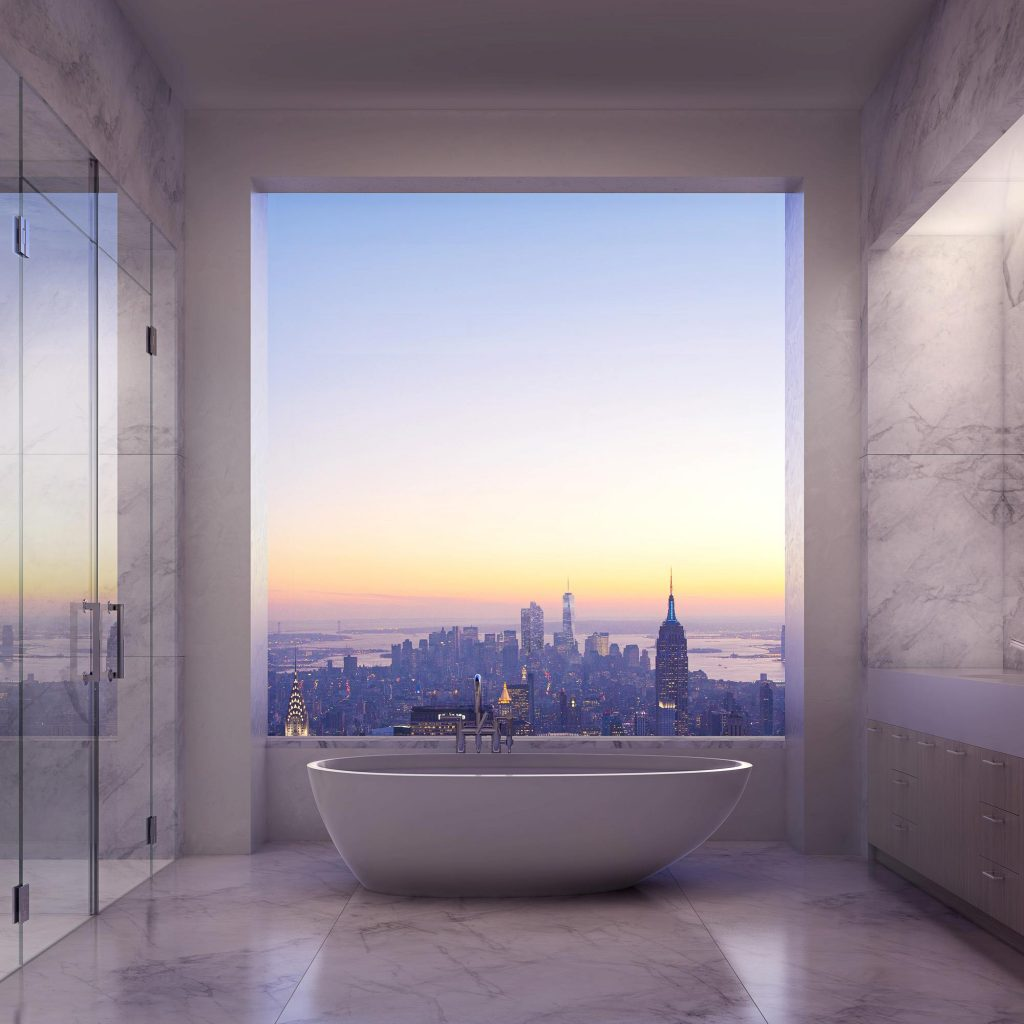 432 Park bathtub