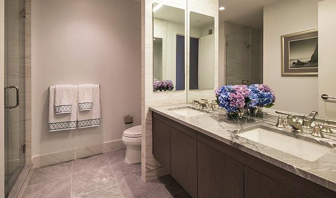 Azure bathroom