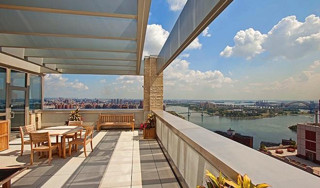 Azure rooftop terrace