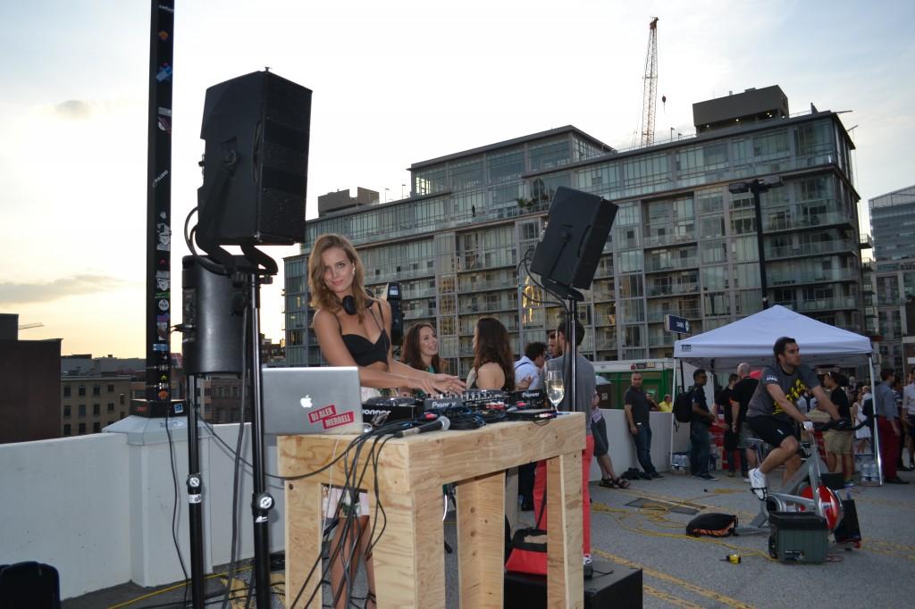 Raw energy DJ Alex Merrell
