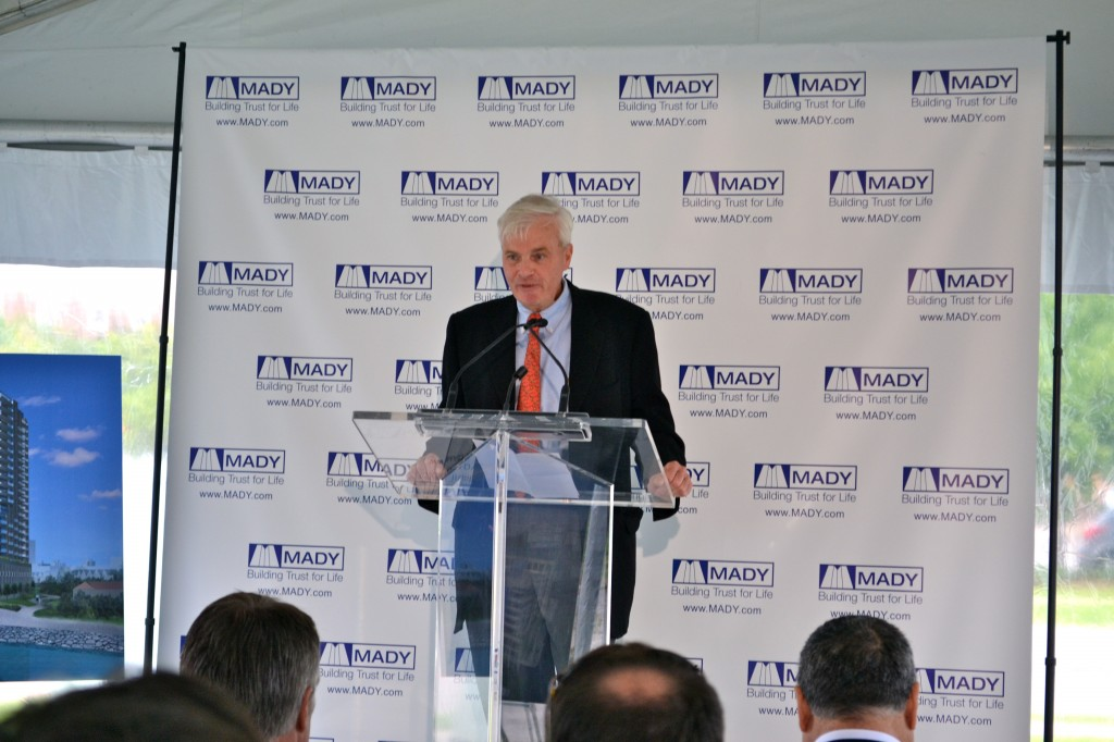 President of Mayrose-Tycon Limited, Matt Jaecklein announced MADY as the project's developer.