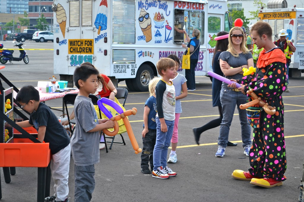 Ice cream trucks, and face painters, and games...oh my!