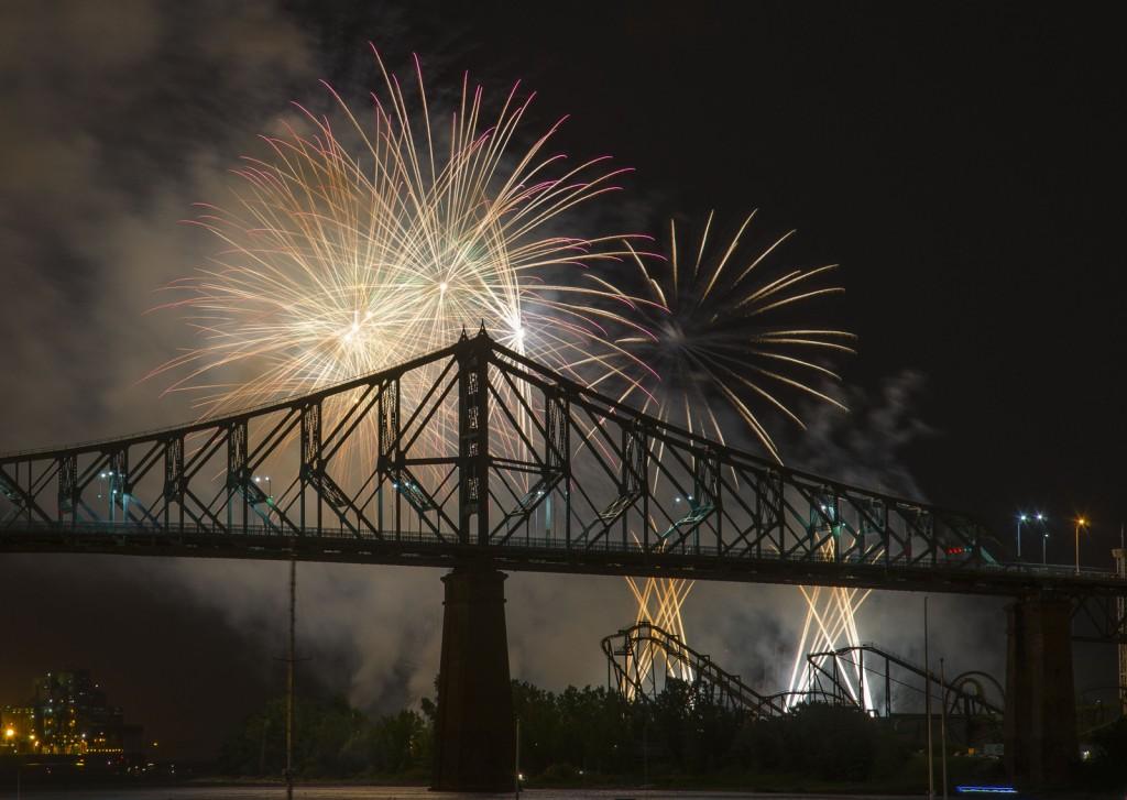 Montreal fireworks