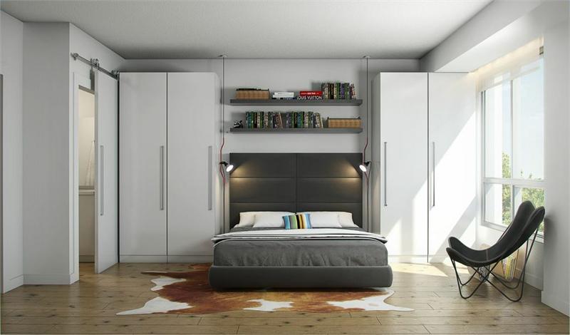 SoBow bedroom Calgary