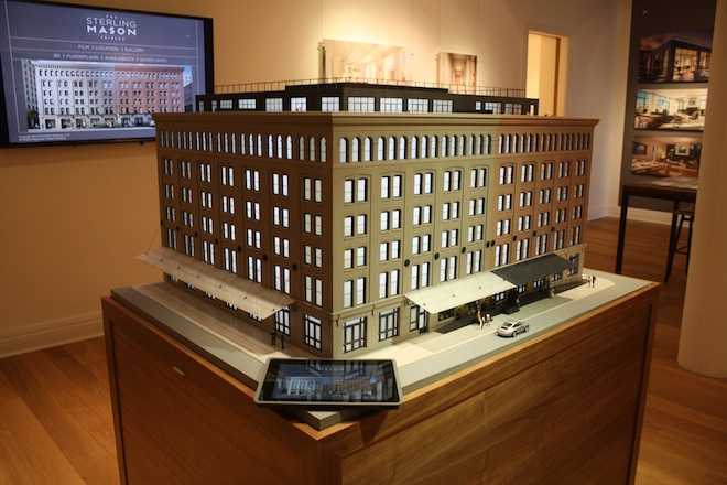 Sterling Mason scale model exterior