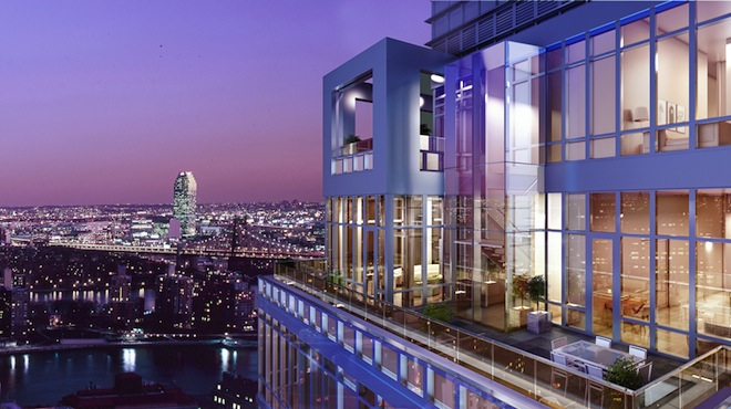 The Charles duplex penthouse terrace