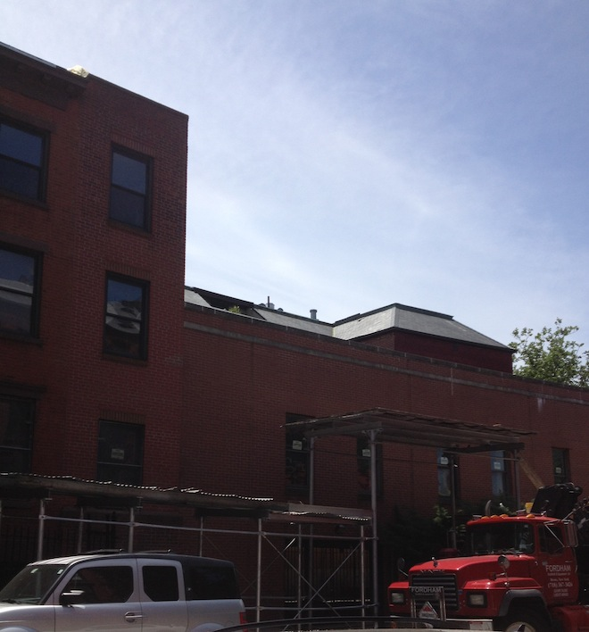 Townhouses of Cobble Hill construction 3