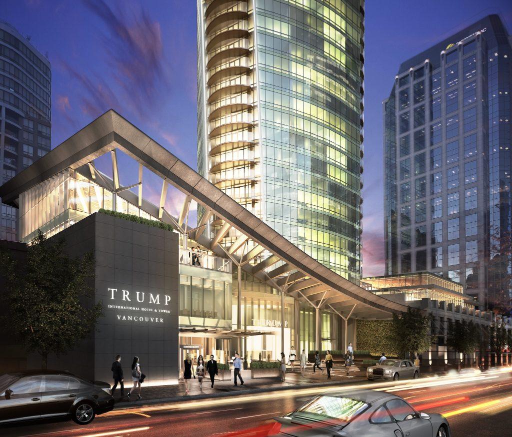 Trump tower hotel condo Vancouver-1