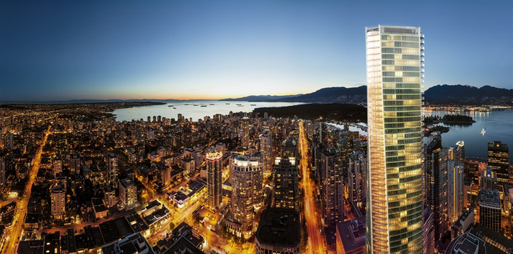 Trump tower hotel condo Vancouver