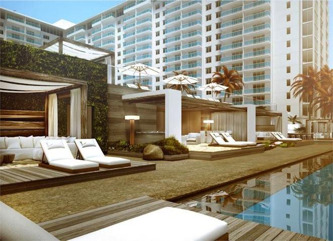 1 Hotel Residences swimming pool 2