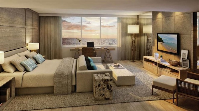 1 Hotel bedroom