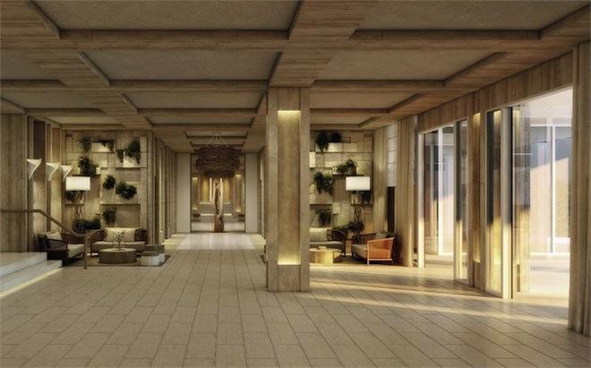 1 Hotel condo lobby