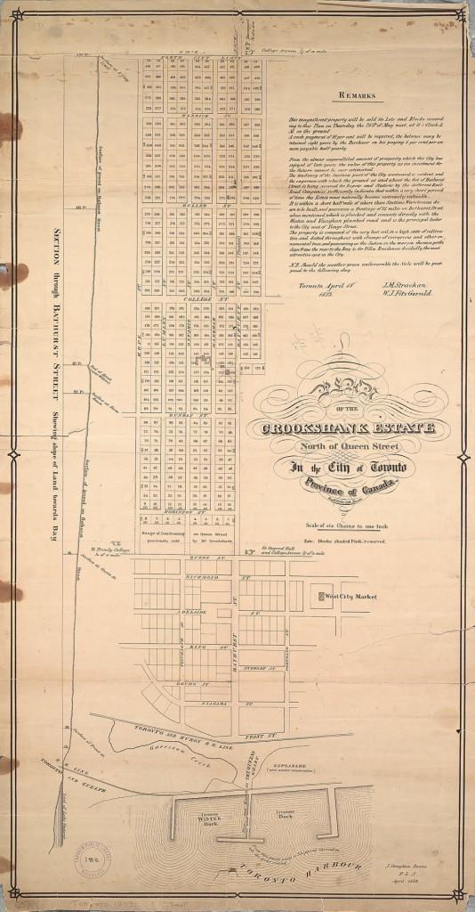 Bathurst Queen 1853 toronto