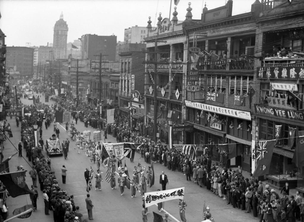 Chinatown 1945