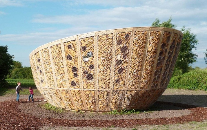 Corn Cob house
