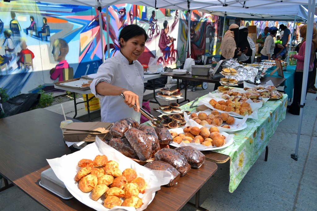 Mary-Ann's pastries looked mouthwatering good.