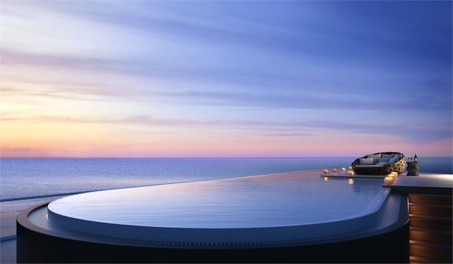 Faena House penthouse pool 7-3