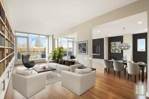 Fieldston Lofts 5A living room 0