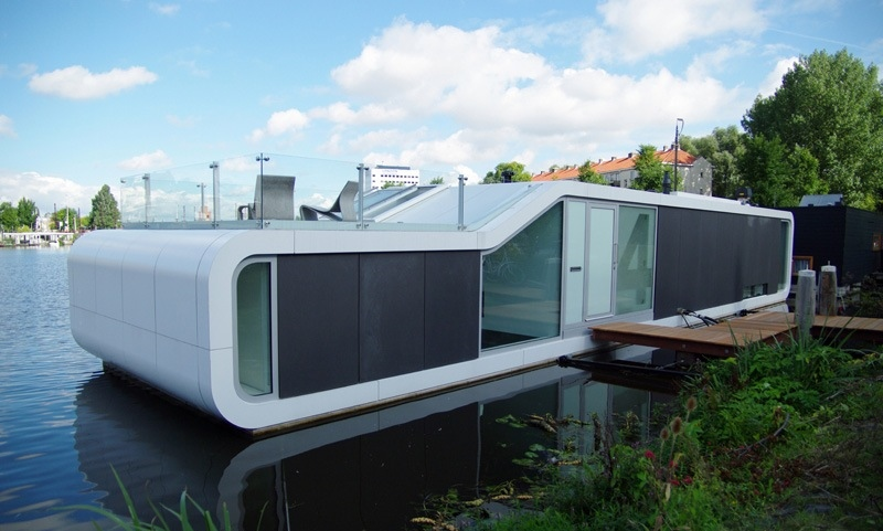 Floating homes - water house amsterdam