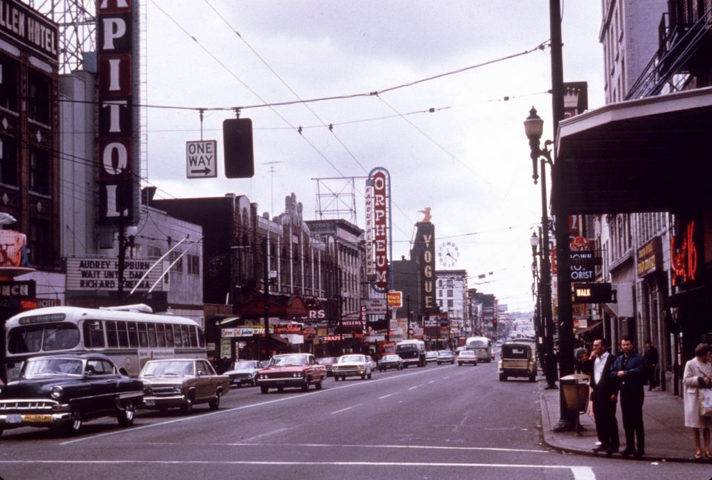 Granville Street 1967