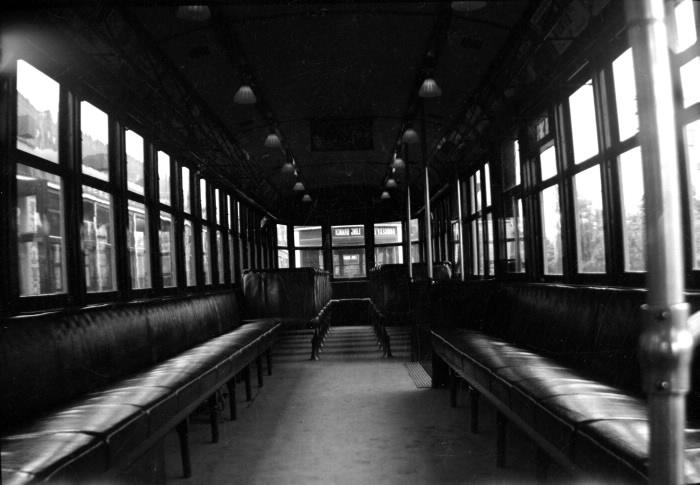 Interior Streetcar 1938