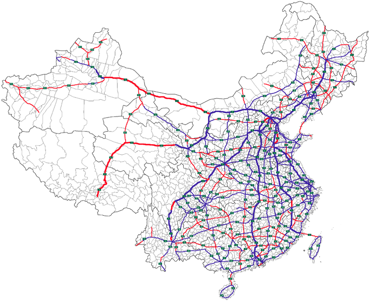 NTHS_Expressways_of_China