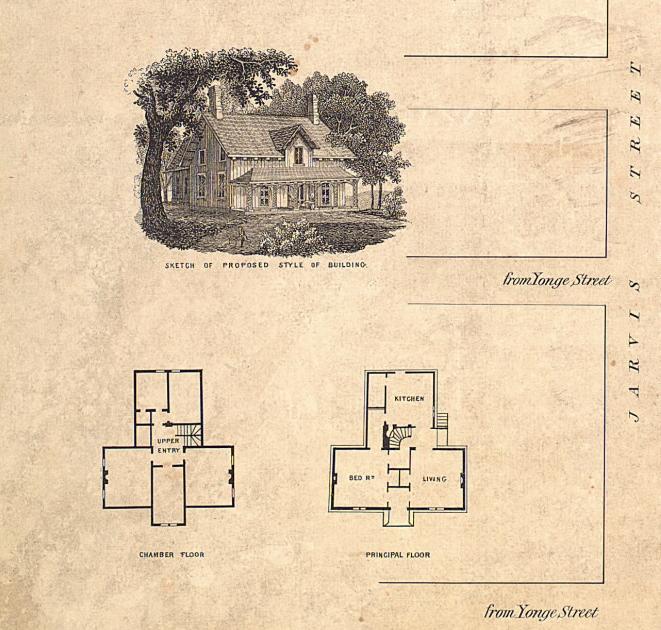 Yorkville Village 1855