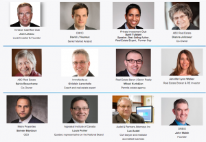 Speakers Investor Forum Montreal