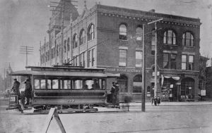 Spadina and College streetcar