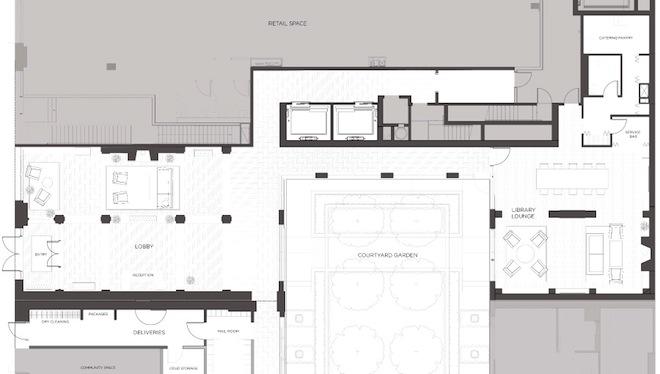 Sterling Mason amenities floor plan