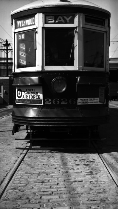 Streetcar closeup ads