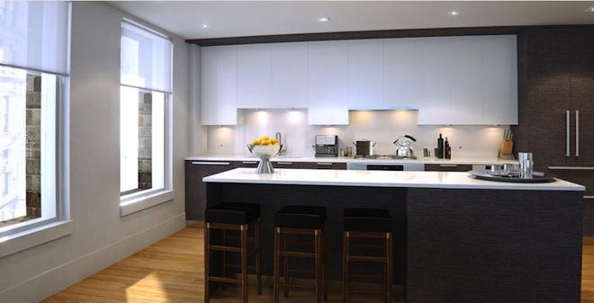 The Leonard kitchen