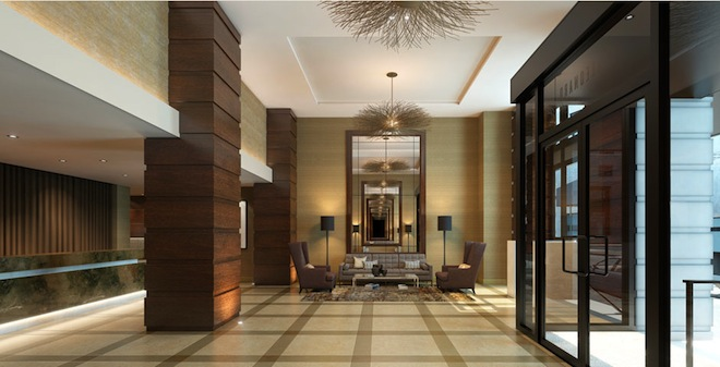 The leonard lobby