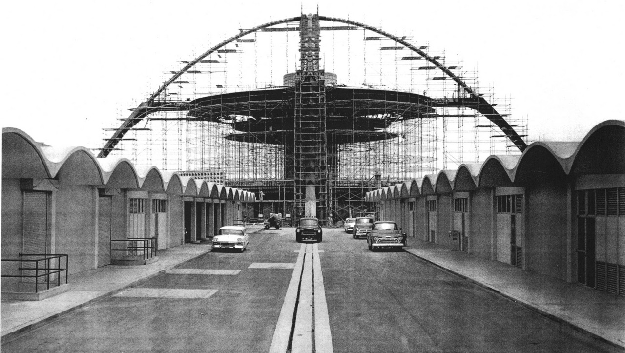 Theme building construction