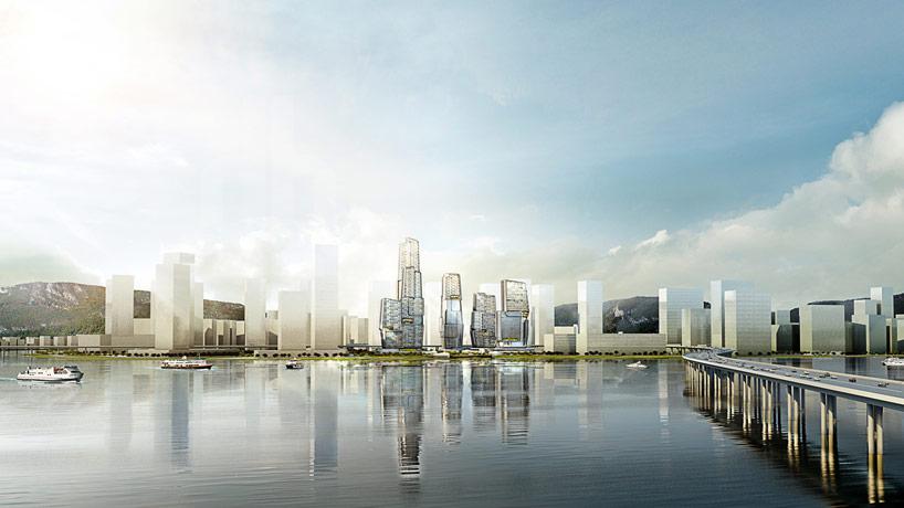 UNstudio-yongjia-world-trade-center-china-designboom01