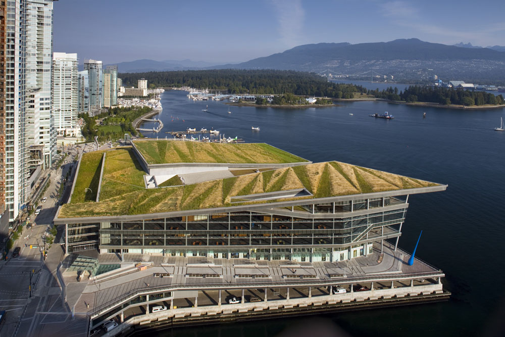 Vancouver Convention Centre rooftop garden