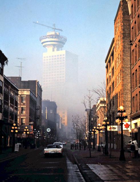 Vancouver Harbour Centre 1977