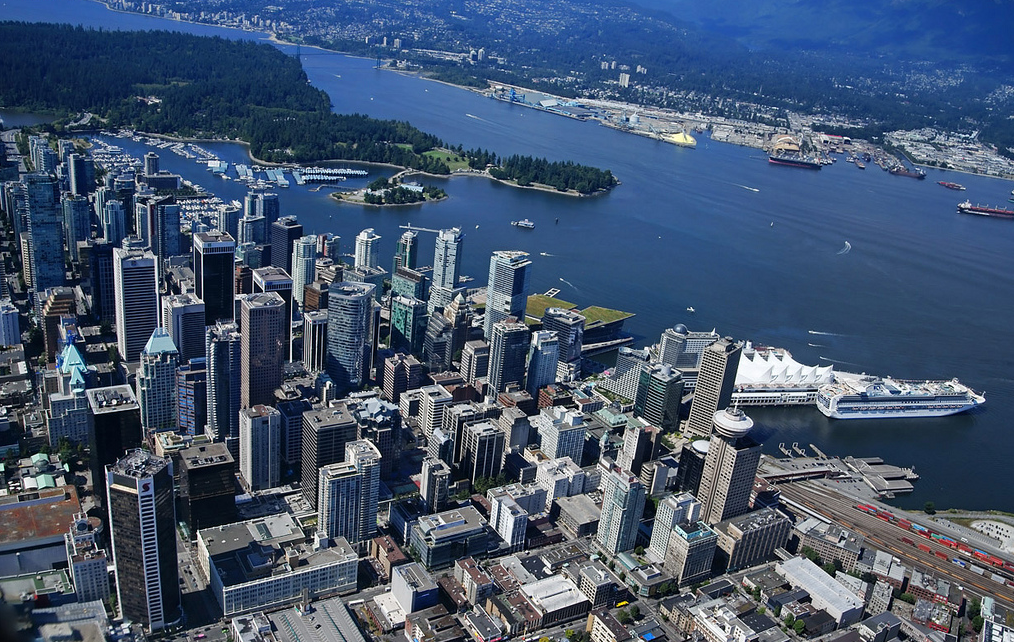 Vancouver aerial present-3