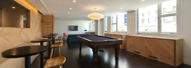 Williamsburg Townhomes game room