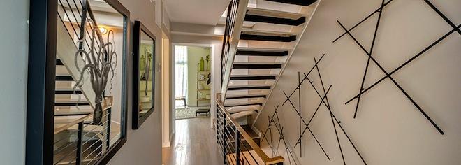 Williamsburg Townhomes stairs