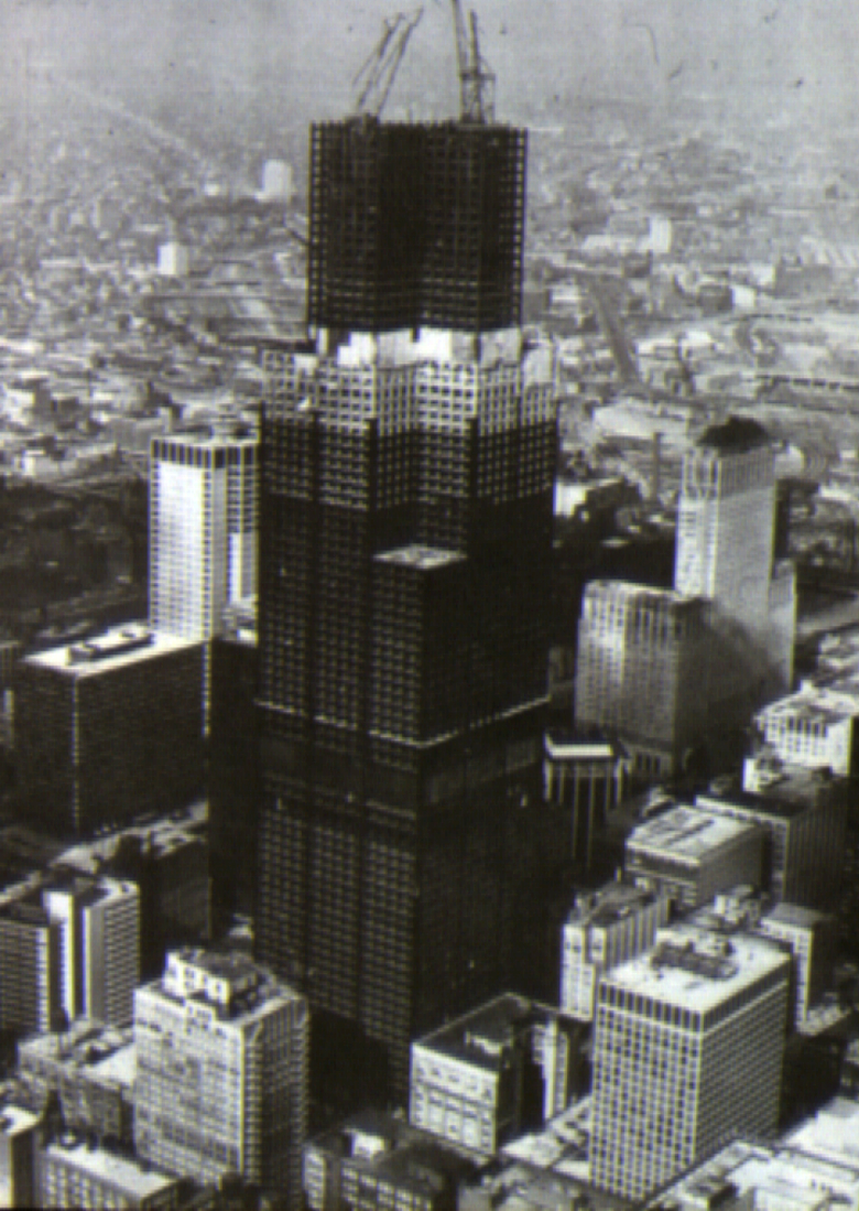 Willis Tower construction-1