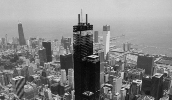 Willis Tower construction