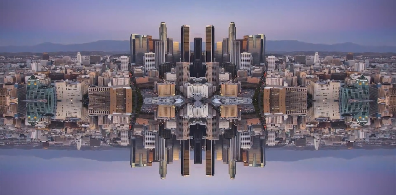 mirror city timelapse