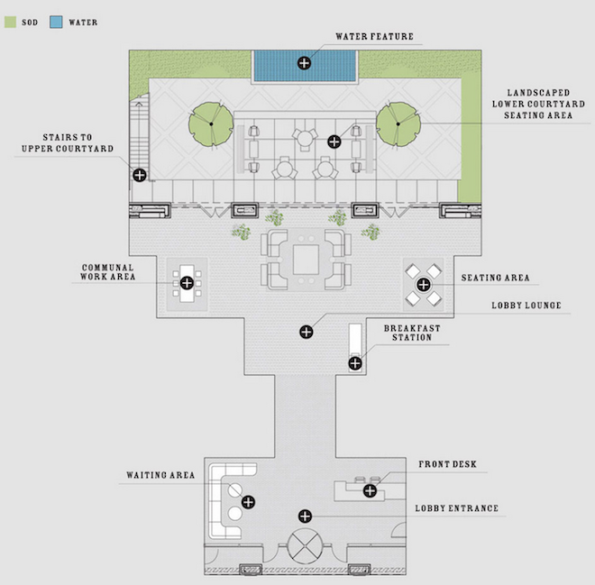 50 North 5th amenities map 1