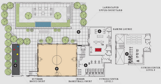 50 North 5th amenities map 2
