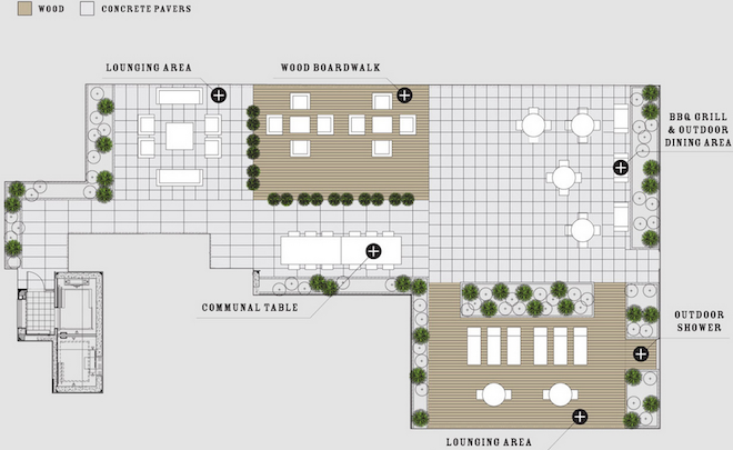 50 North 5th amenities map 3