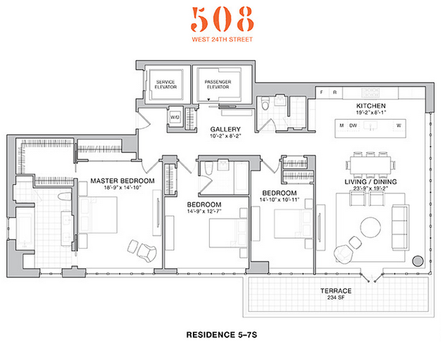 508 West 24th 7S