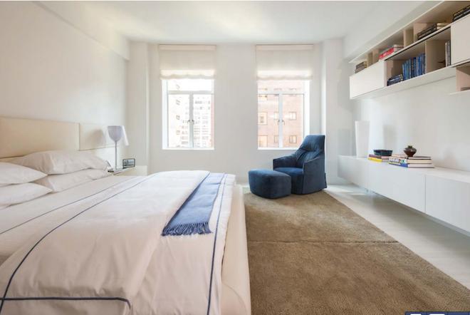 737 Park C master bedroom